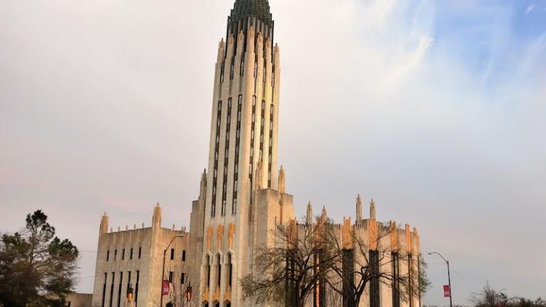 Art Deco architecture tour in Tulsa, Oklahoma.