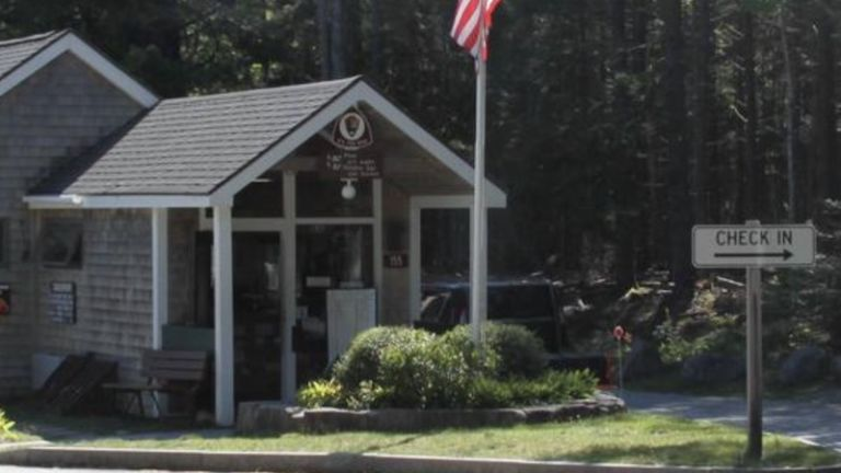 Blackwoods Campground in Bar Harbor, Maine.