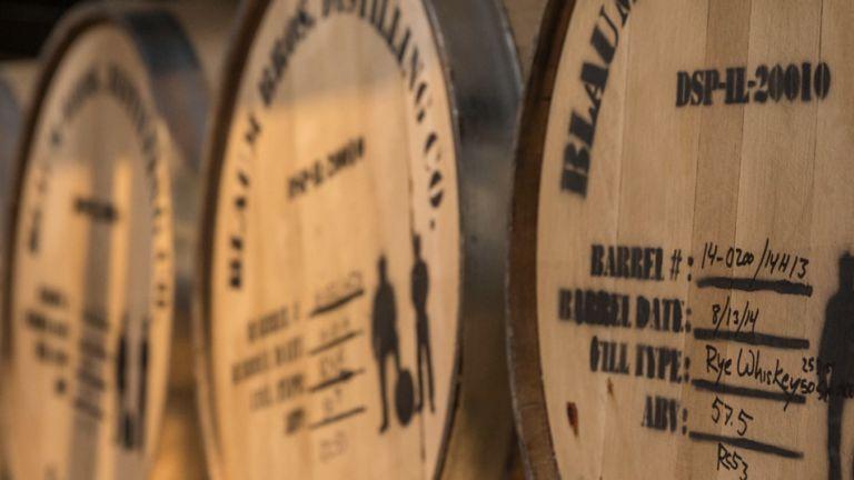 Blaum Bros. Distilling Co. in Galena, Illinois.