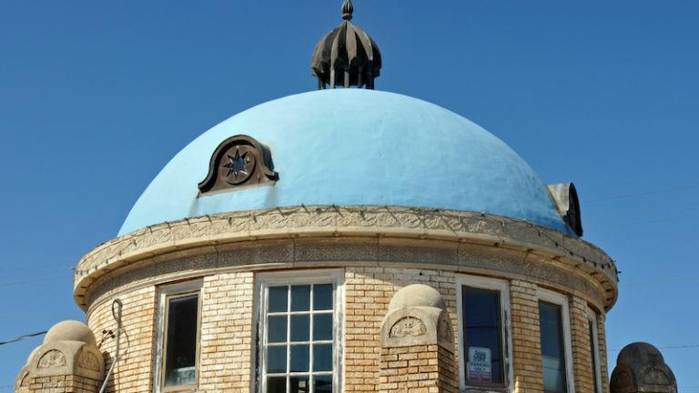 Blue Dome District in Tulsa, Oklahoma.