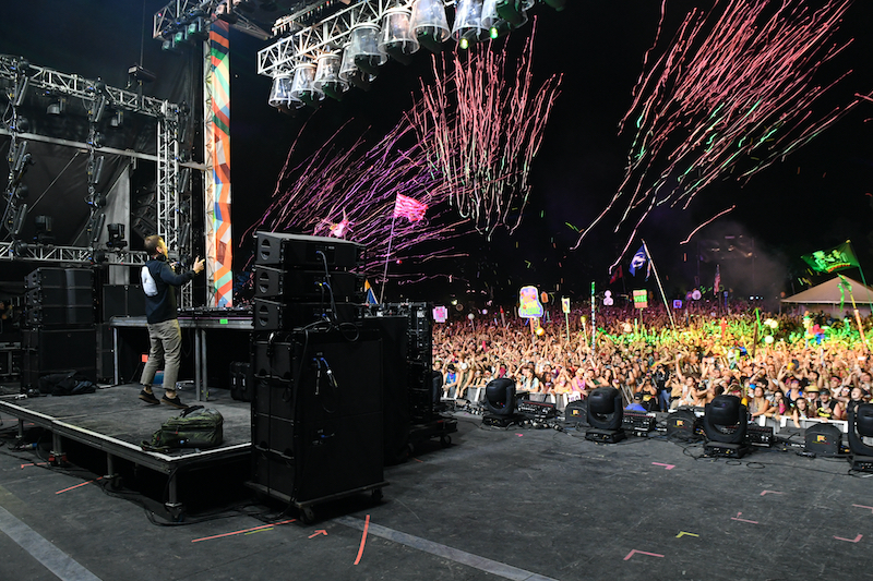 MANCHESTER, TN - JUNE 09: Kaskade performs onstage at The Other Tent during day 3 of the 2018 Bonnaroo Arts And Music Festival on June 9, 2018 in Manchester, Tennessee. Photo via Shutterstock.