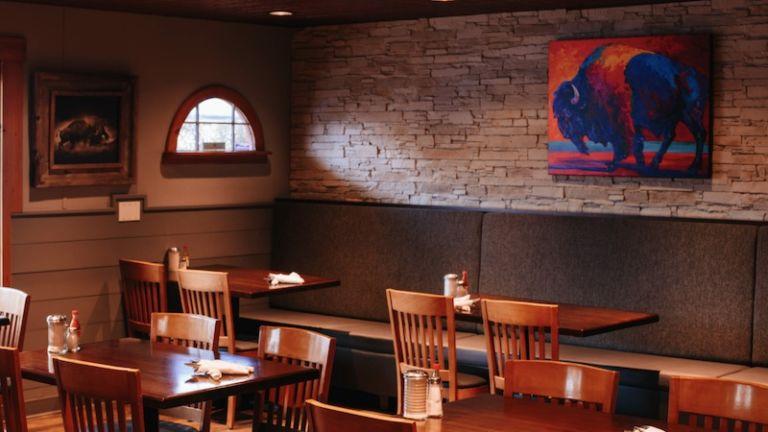 Buffalo Cafe in Whitefish, Montana
