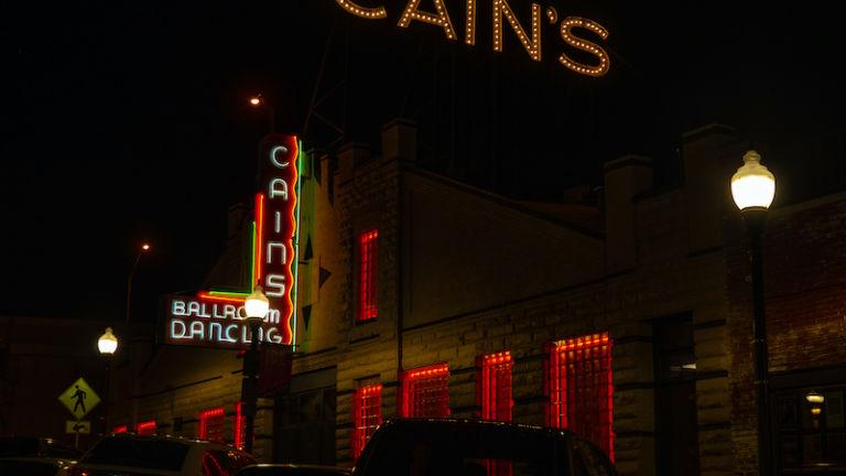 Cain's Ballroom in Tulsa, Oklahoma.