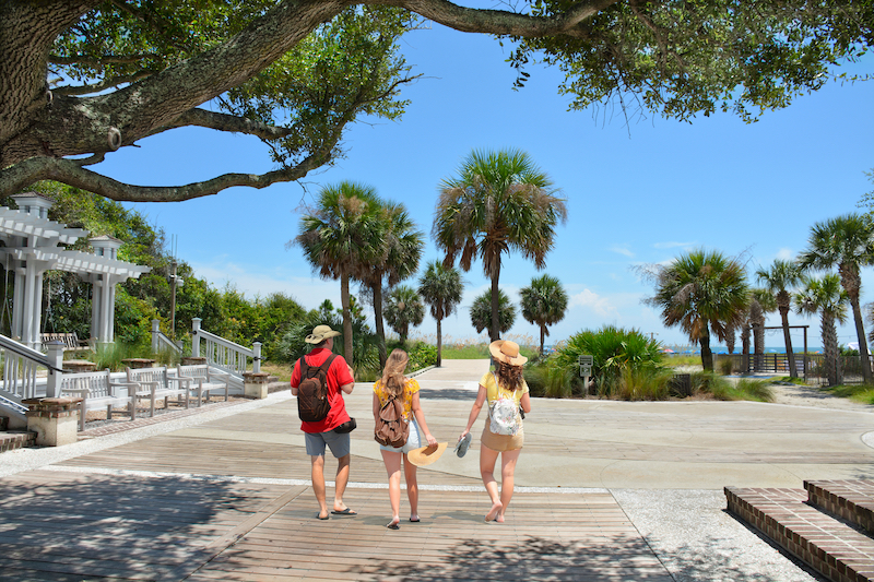 Coligny Beach Park, Hilton Head Island, South Carolina. Photo by Shutterstock.