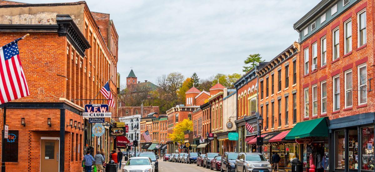 Galena, Illinois. Photo via Shutterstock.