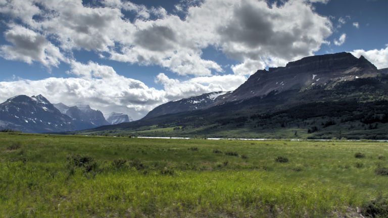 Glacier National Park in Whitefish, Montana.