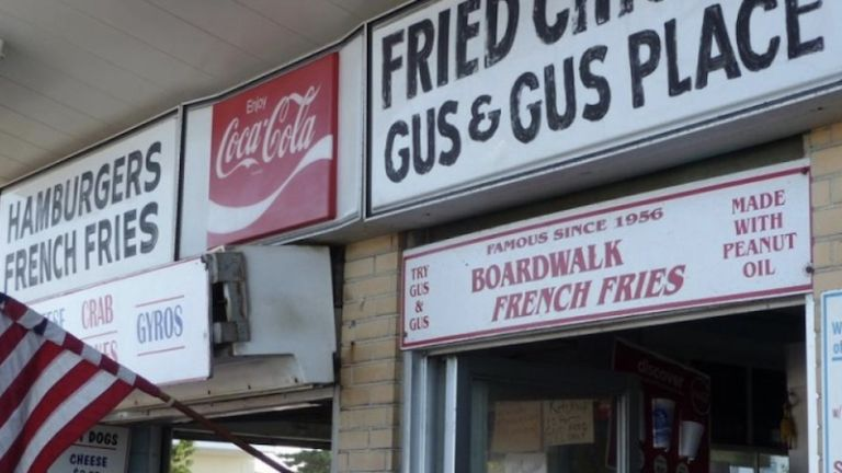 Gus & Gus Place in Rehoboth Beach, Delaware.