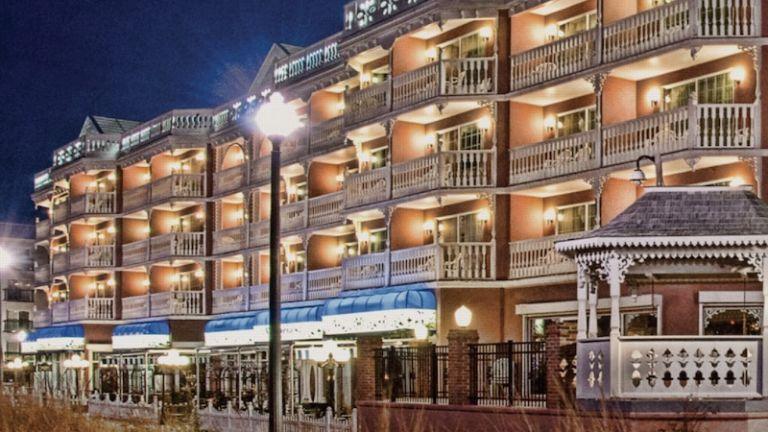 Boardwalk Plaza Hotel in Rehoboth Beach, Delaware.