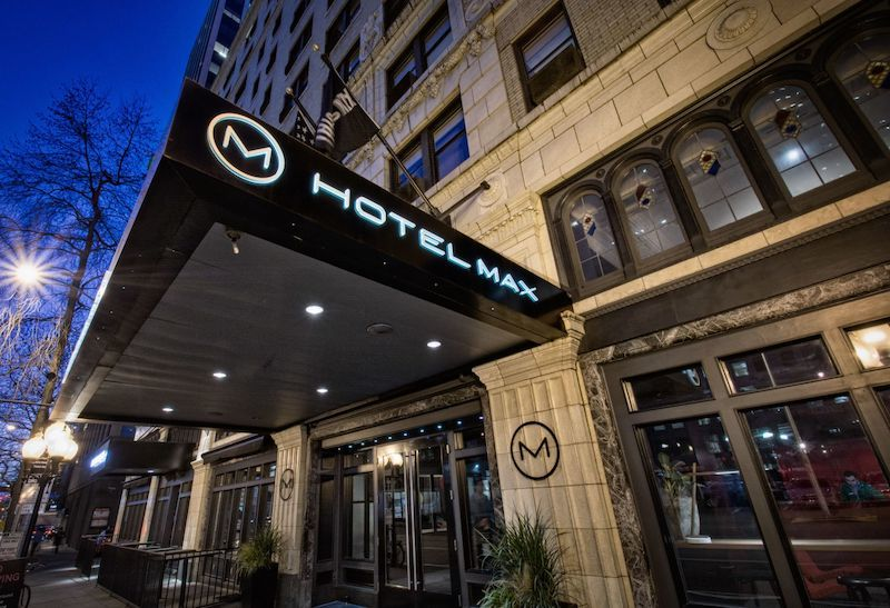 Hotel Max in Seattle. Photo courtesy of Hotel Max.