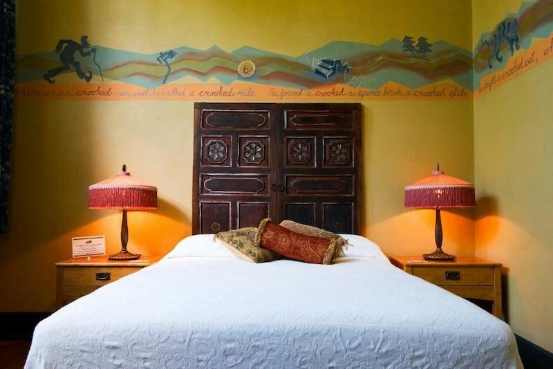 Room at the McMenamins Kennedy School Hotel