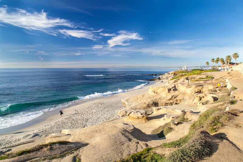 Best Beaches in America: La Jolla Cove Beach, San Diego, Calif. Photo by Shutterstock.