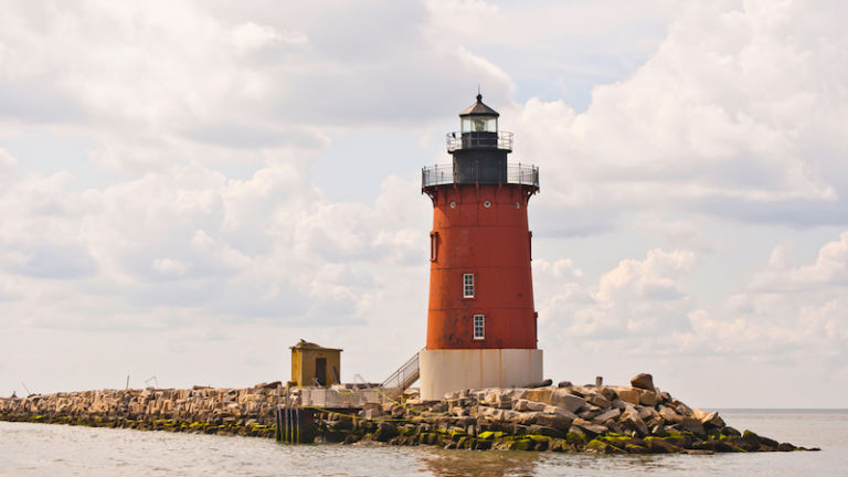Lighthouse in Lewes, Delaware. Photo by Shutterstock.