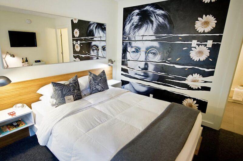 Lobu room at The Jupiter in Portland.