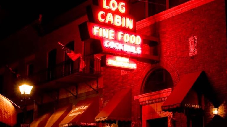 Log Cabin Steakhouse in Galena, Illinois