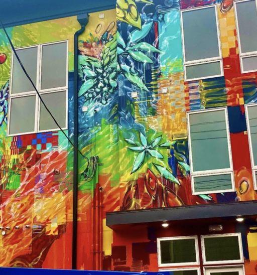 Street art in Jersey City, New Jersey