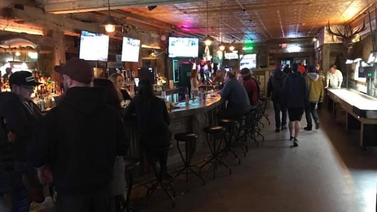 Remington Bar in Whitefish, Montana.