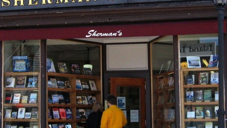 Sherman's in Bar Harbor, Maine.