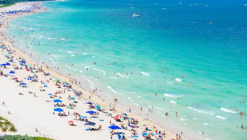 Best Beaches in America: South Beach, Miami Beach. Photo by Shutterstock.