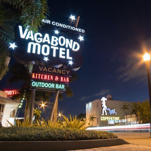 Vagabond Motel in Miami.