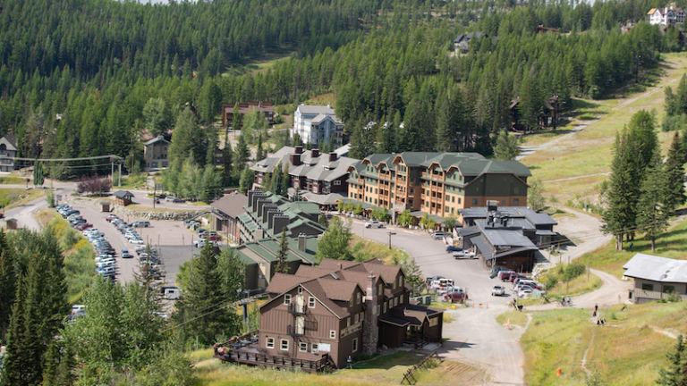 Whitefish Mountain Resort in Whitefish, Montana. Photo via Shutterstock.