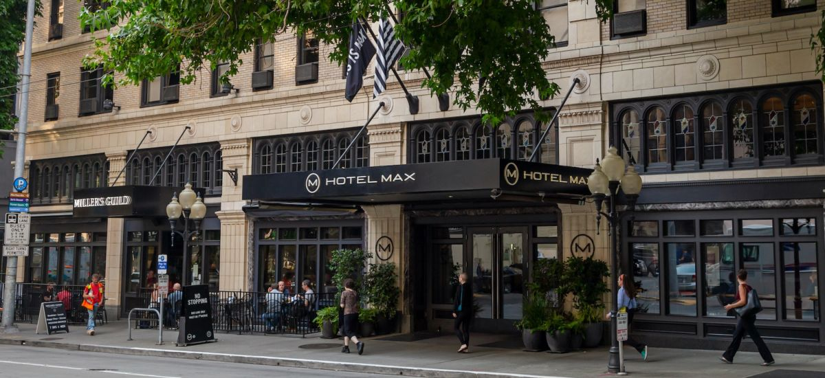 Hotel Max in Seattle. Photo by Shutterstock.