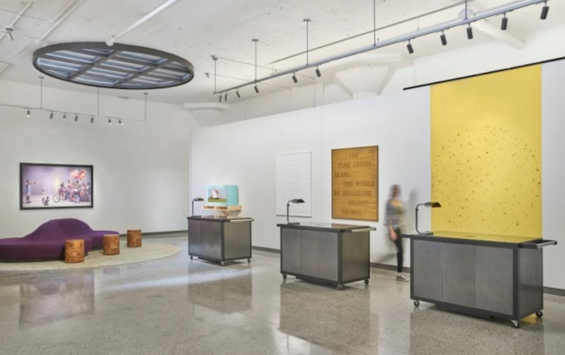 The shop in the 21c Museum Hotel in Oklahoma City.