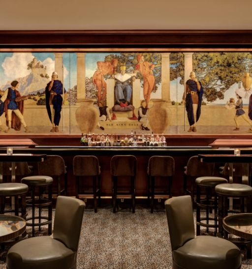 King Cole Bar at The Regis Hotel in New York.