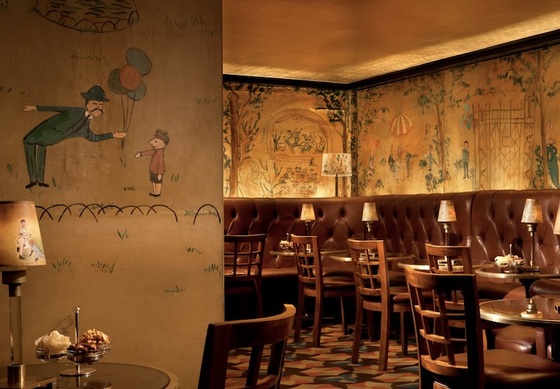 Bemelmans Bar at Carlyle Hotel