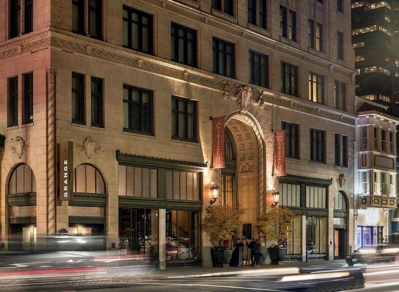Front of Citizen Hotel Sacramento