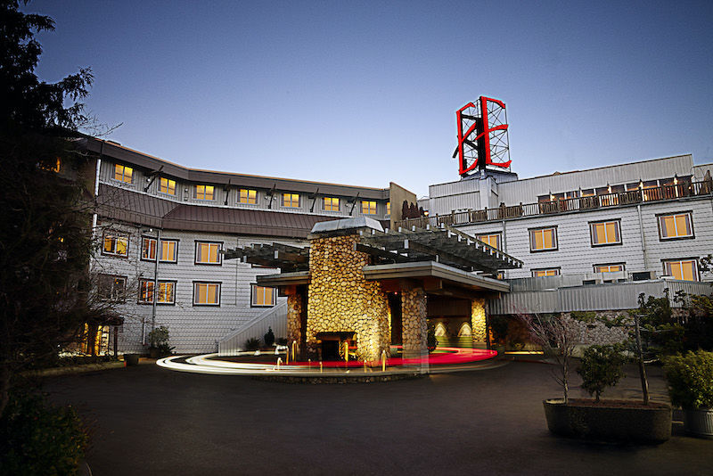 Exterior of the Edgewater hotel in Seattle. Photo via the hotel.