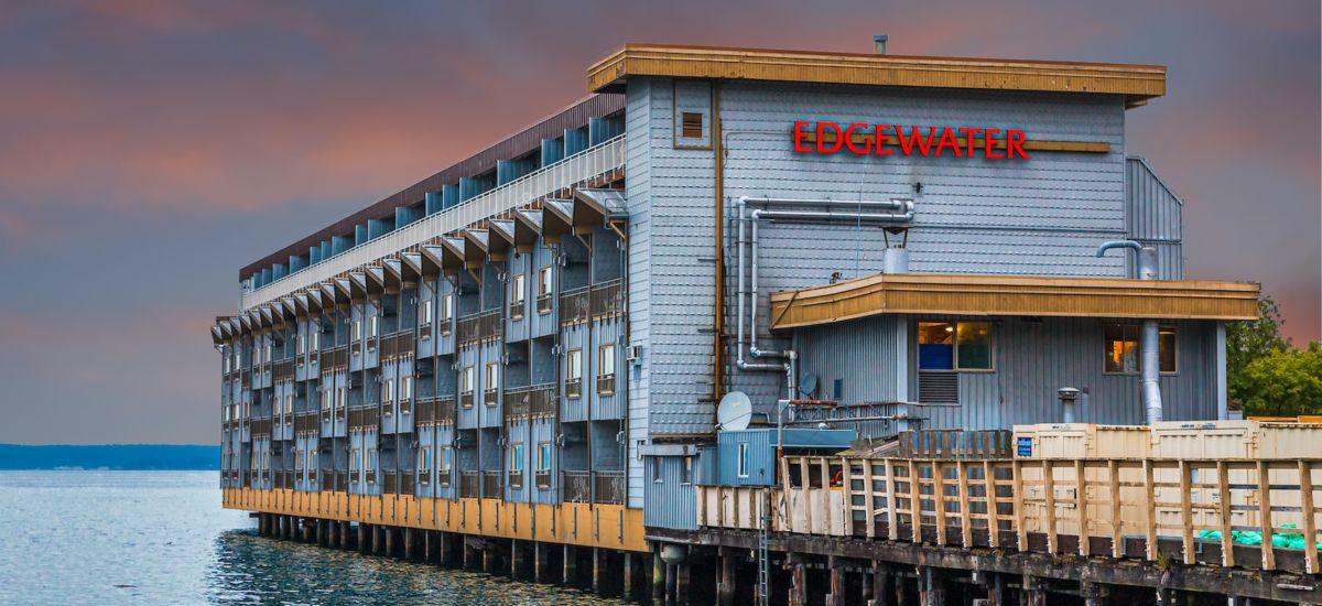 The Edgewater in Seattle. Photo via Shutterstock.