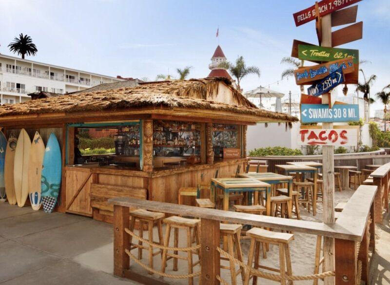 Taco Shack at Hotel Del Coronado.