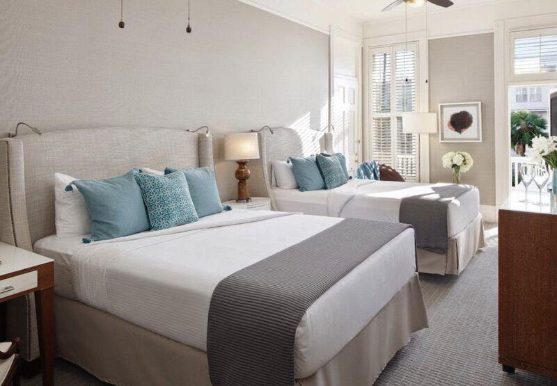 A room in the Victorian section of Hotel Del Coronado.