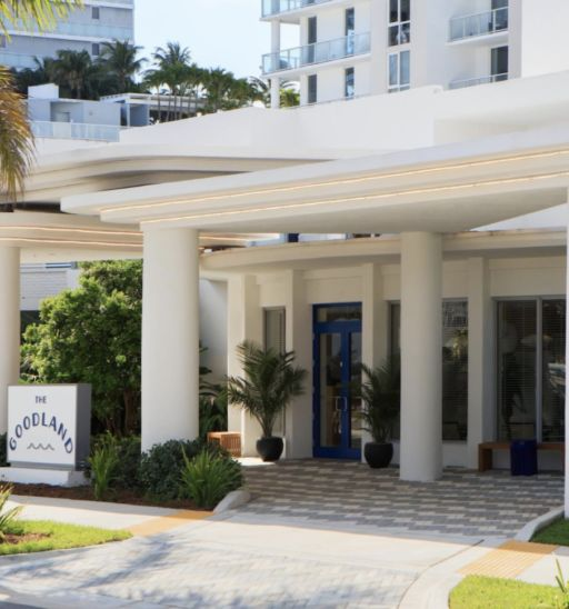 The Kimpton Goodland Hotel in Fort Lauderdale Beach
