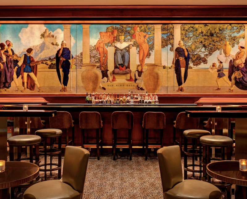 Iconic Hotel Bars: King Cole Bar at St. Regis