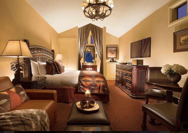Room at the Rustic Inn Creekside Resort and Spa