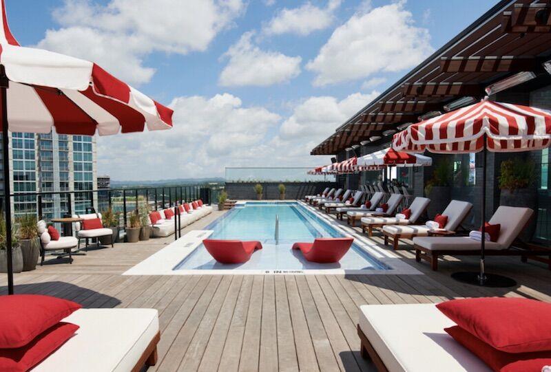 Pool at Virgin Hotel Nashville
