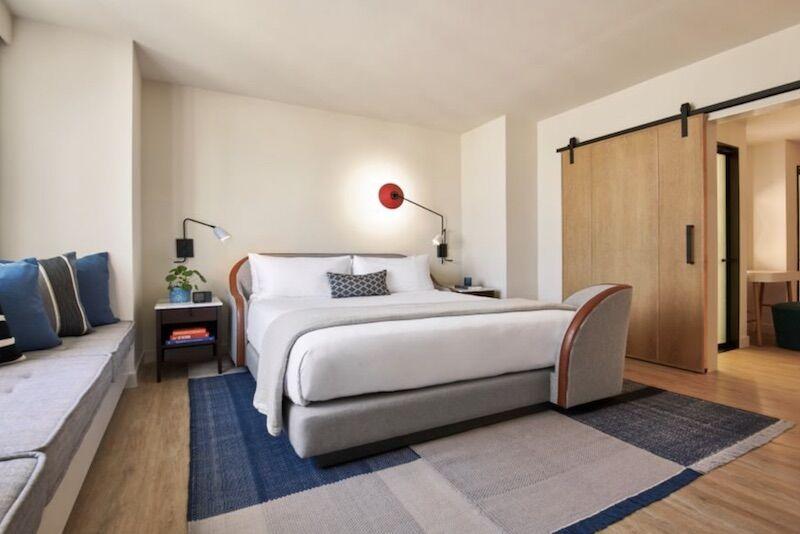 Room at Virgin Hotel Nashville