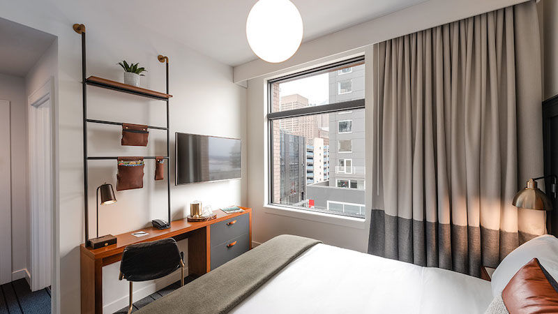 The State Hotel, city view king room. Image by KIPMAN Creative, courtesy of hotel.