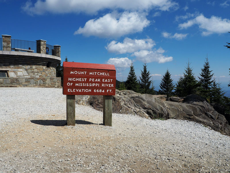 Mount Mitchell on the ultimate North Carolina road trip. Photo by John Paradiso.