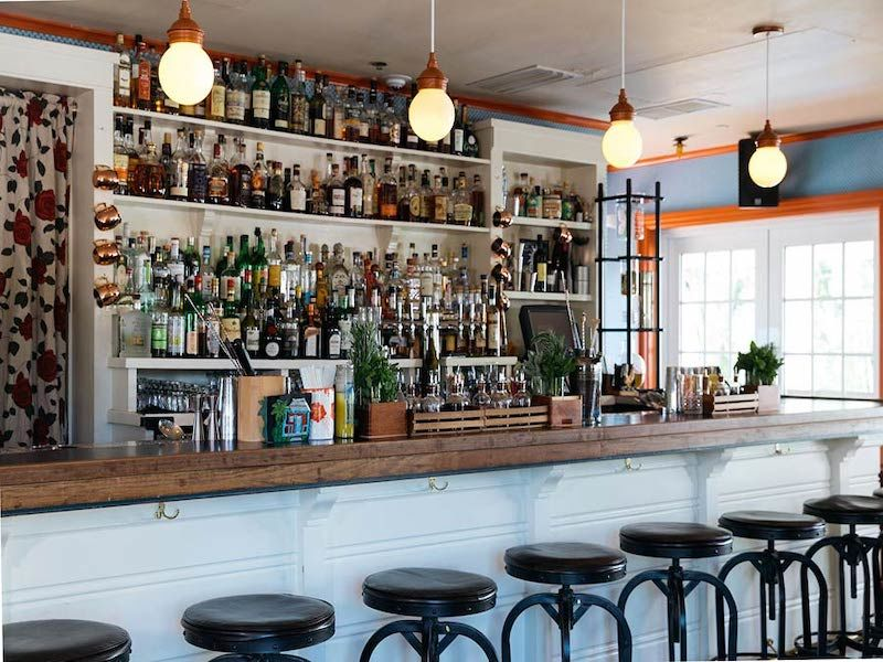 Bar at the Freehand Miami