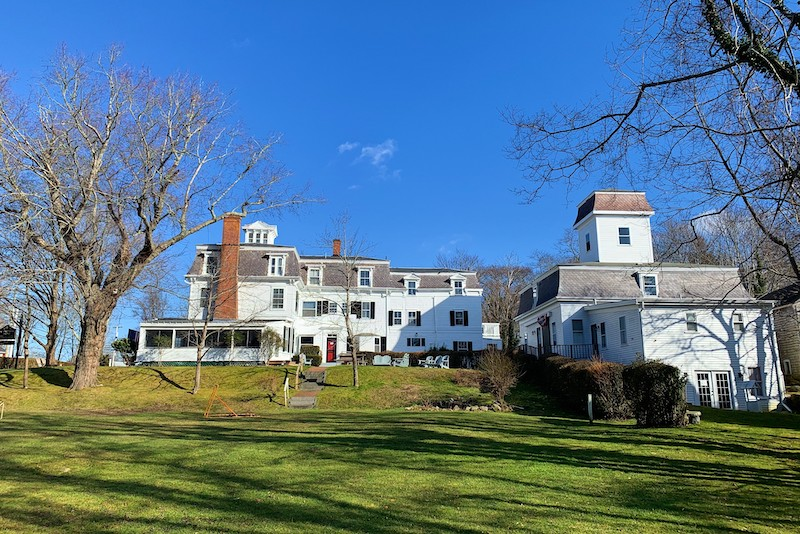 Chapter House in Cape Cod. Image courtesy of Baxter Hospitality.