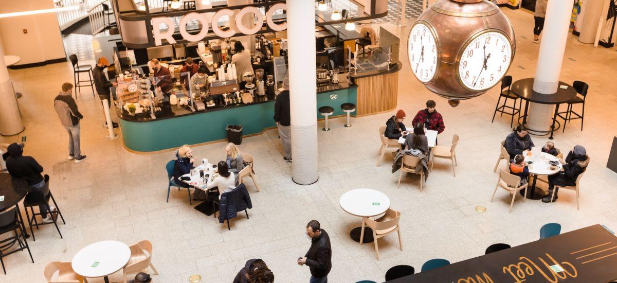 Mercantile food hall. Photo credit: John Schila